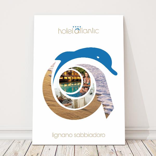 grafica-manifesto-pubblicitario-lignano-sabbiadoro-hotel